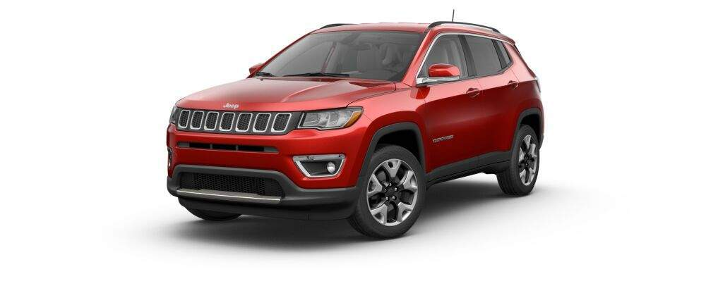 2017 jeep compass in redline