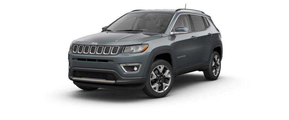 2017 jeep compass in rhino clear