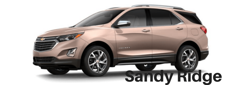 2018 Chevrolet Traverse Colors Available
