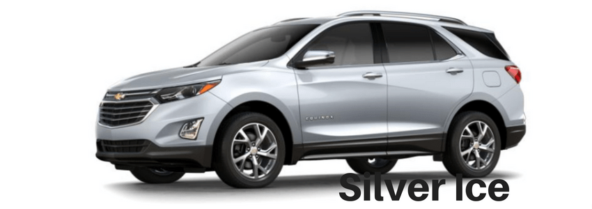 2018 Equinox In Silver Ice