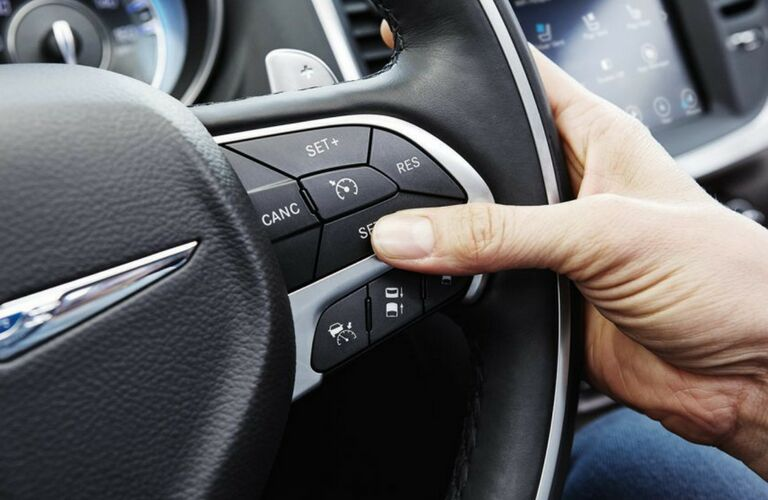steering wheel buttons on 2018 chrysler 300