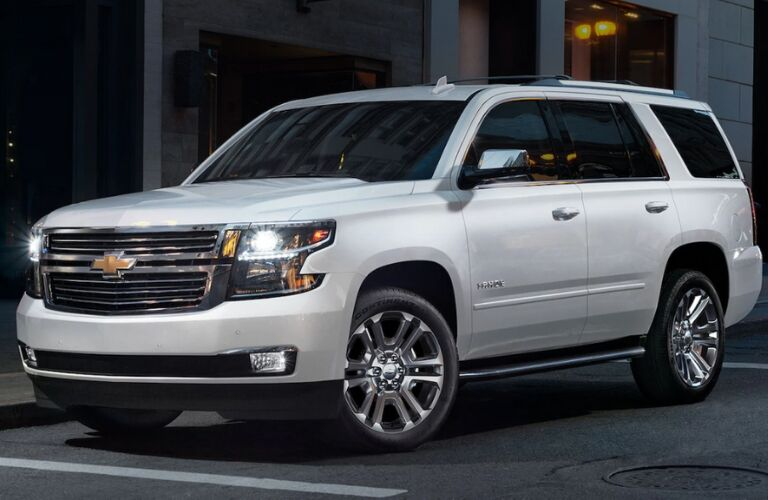 2020 tahoe parked