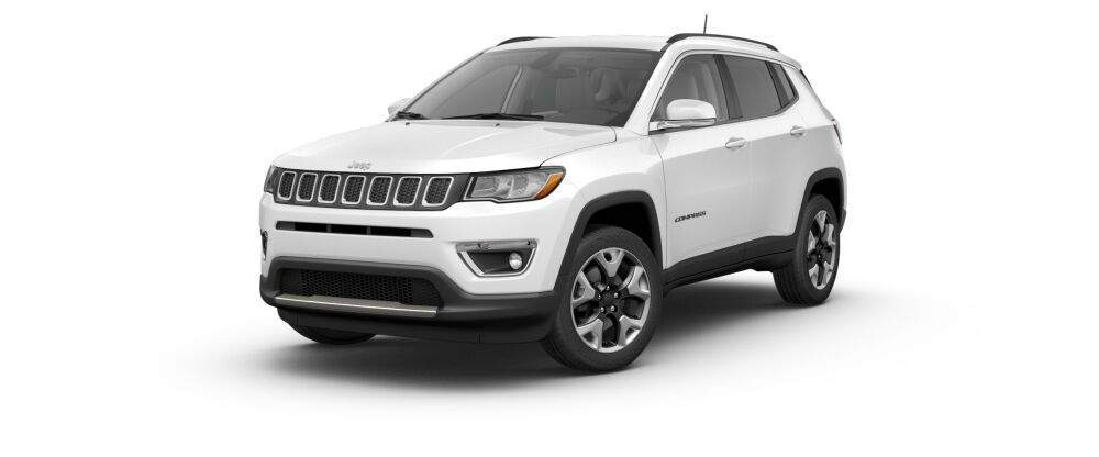 2017 jeep compass in  white clear