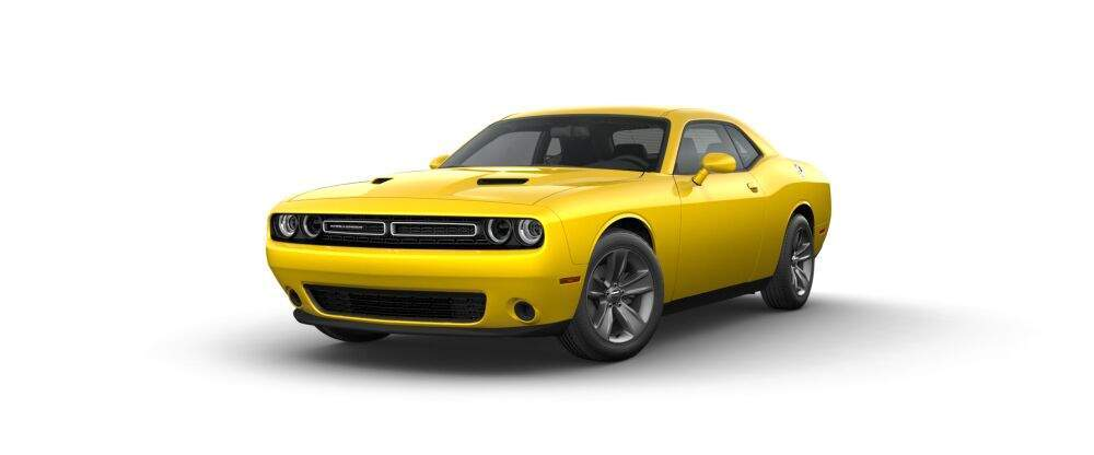 2017 Dodge Challenger in yellow jacket