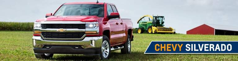 2018 Chevy Silverado 1500 red front view