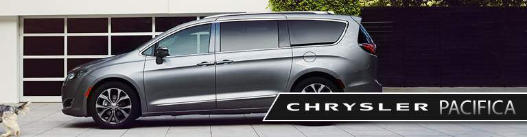 2018 Chrysler Pacifica gray side view