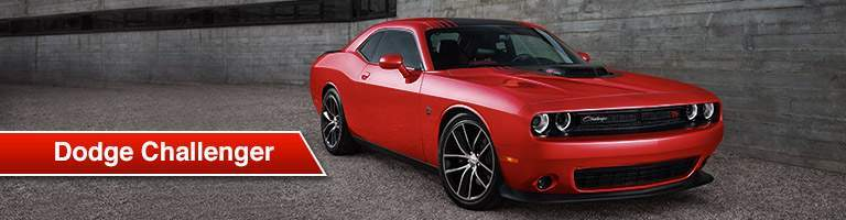2018 Dodge Challenger red side view