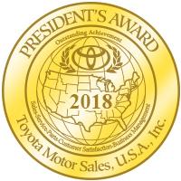 Toyota President's Award 2018