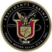 Toyota President's Cabinet Award 2018