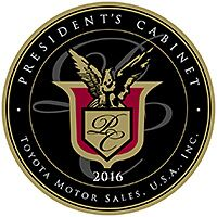 Toyota Presidents Cabinent Award