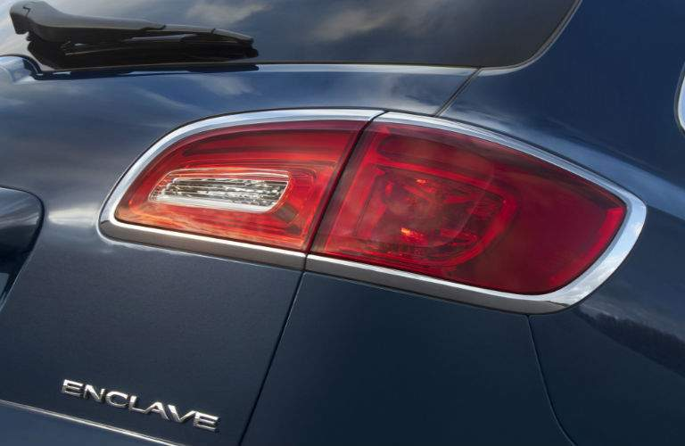 2017 Buick Enclave rear taillights