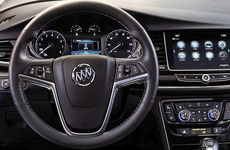 2017 Buick Encore steering wheel