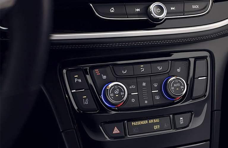 2017 Buick Encore driver controls
