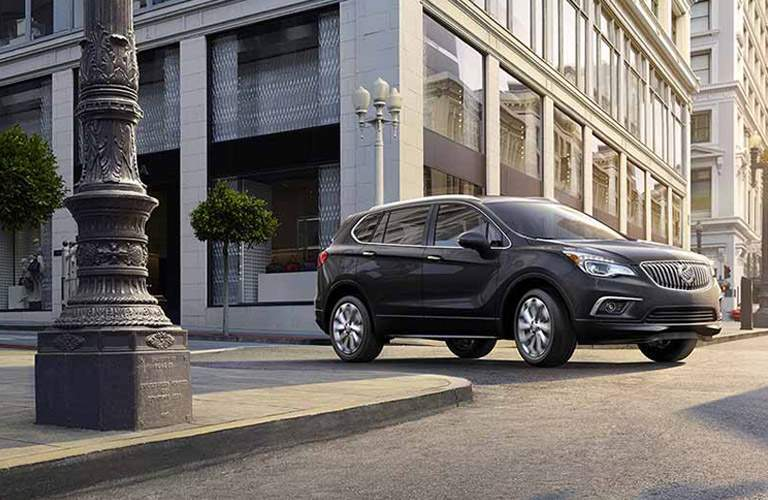 2017 Buick Envision shown in black