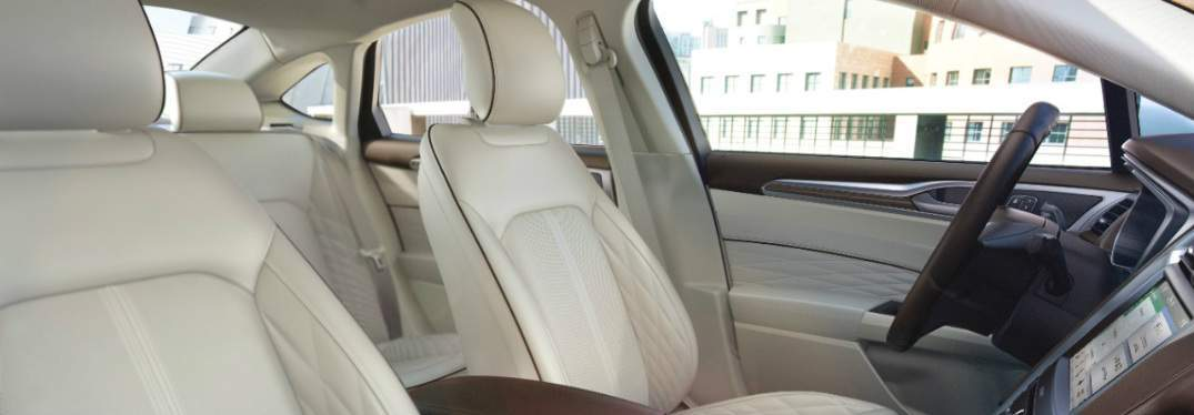 2018 Ford Fusion interior seats