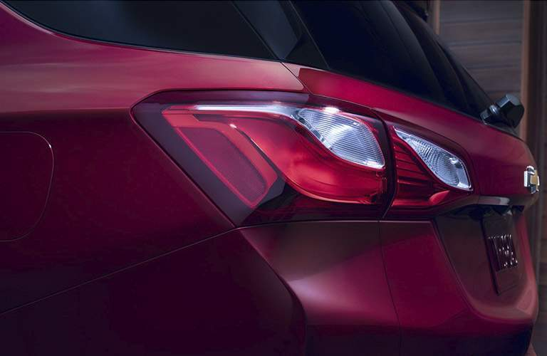 2018 Chevy Equinox taillights