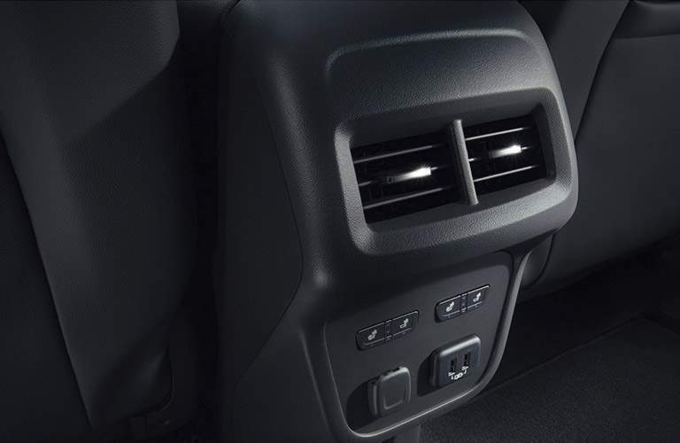 2018 Chevy Equinox rear outlet