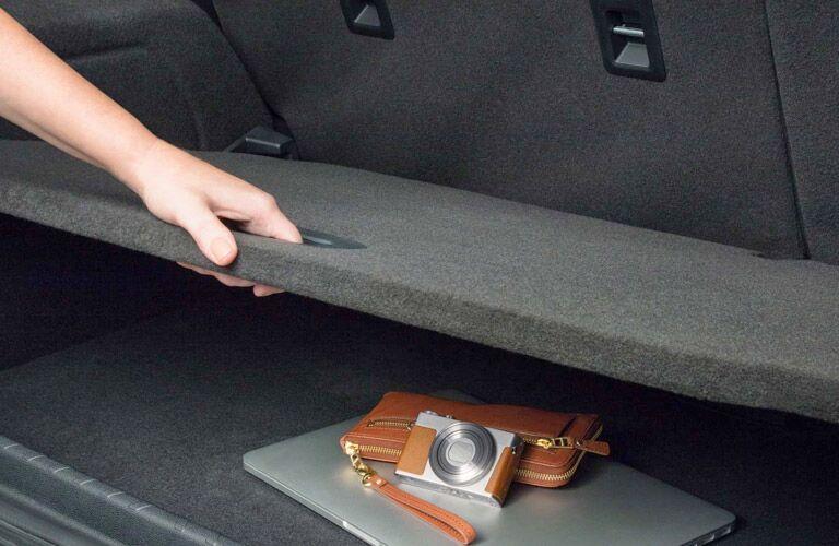 2018 Ford EcoSport cargo management system