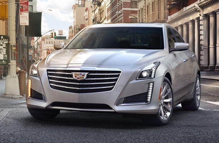 2019 Cadillac CTS turning down road