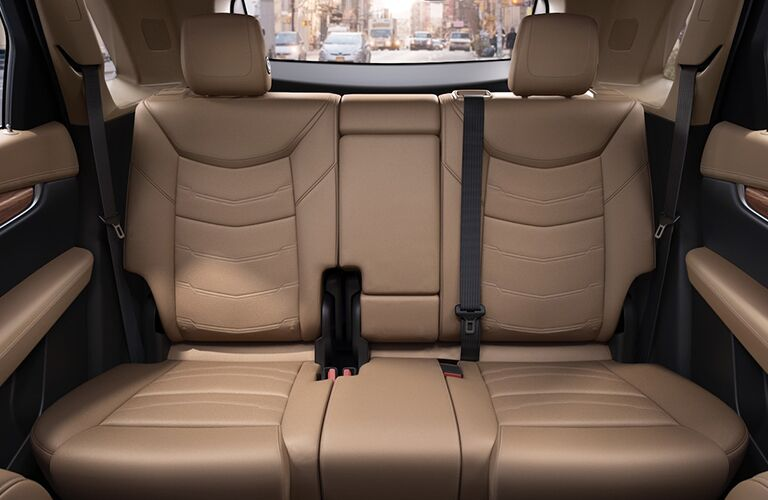 2019 Cadillac XT5 rear seats