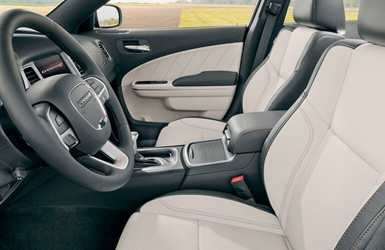 2019 Dodge Charger front seats