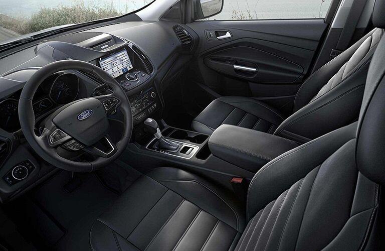 2019 Ford Escape front interior