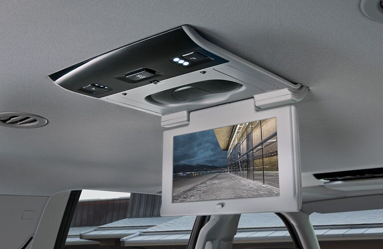 2019 GMC Yukon rear seat entertainment system