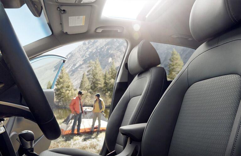 2019 Hyundai Kona front seats