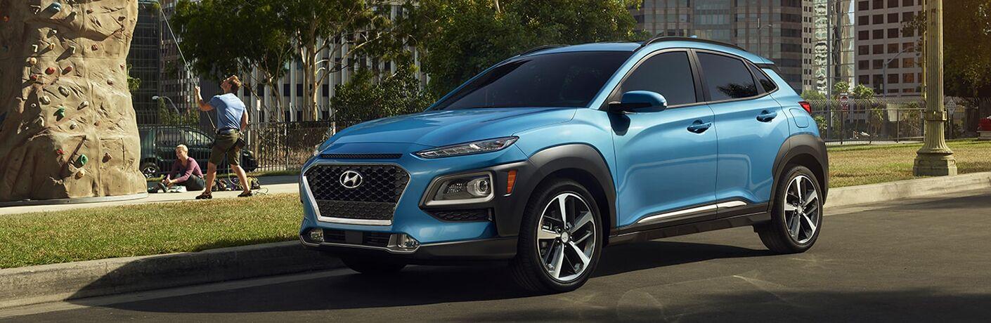 2019 Hyundai Kona exterior side profile