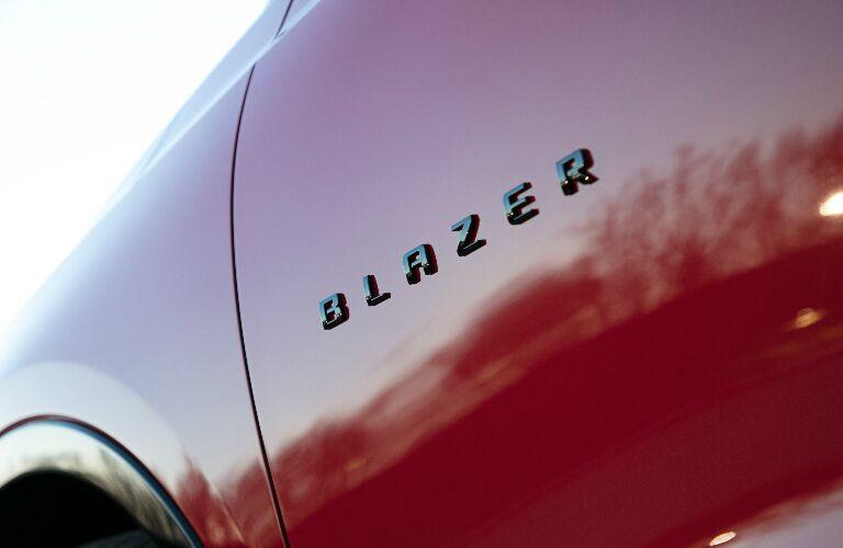 2019 Chevy Blazer badging