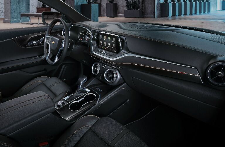 2019 Chevy Blazer front interior seats