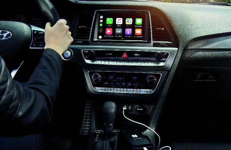 2019 Hyundai Sonata dashboard