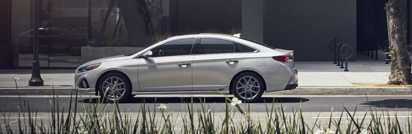 2019 Hyundai Sonata side profile