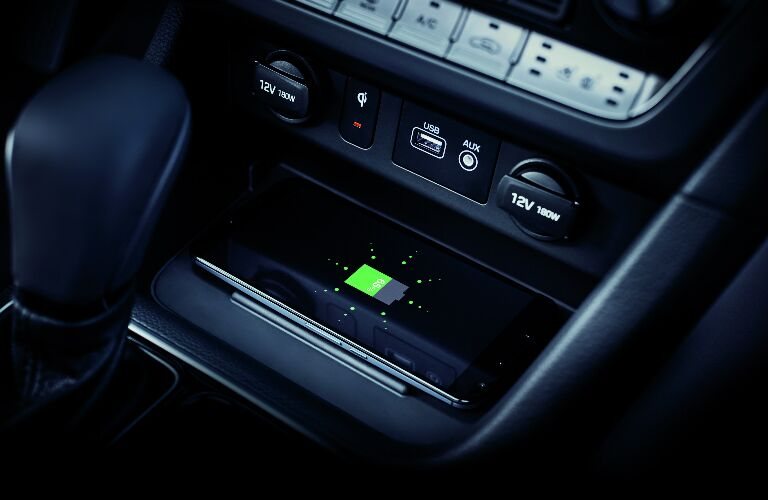 2019 Hyundai Sonata wireless phone charger
