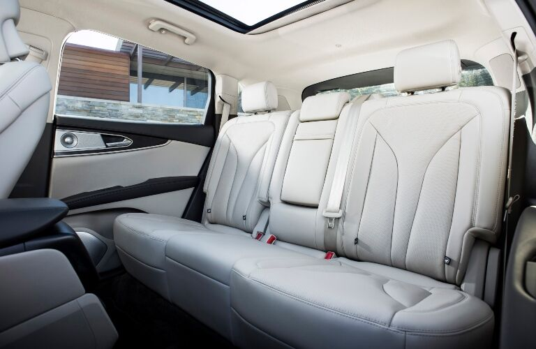 2019 Lincoln Nautilus back seats