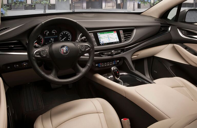 2020 Buick Enclave Steering Wheel and Dashboard