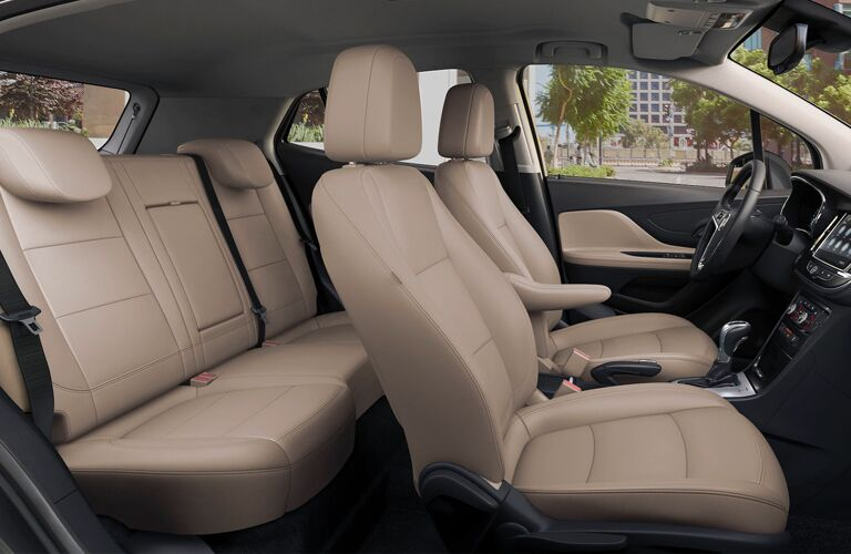 2020 Buck Encore Front and Back Seats