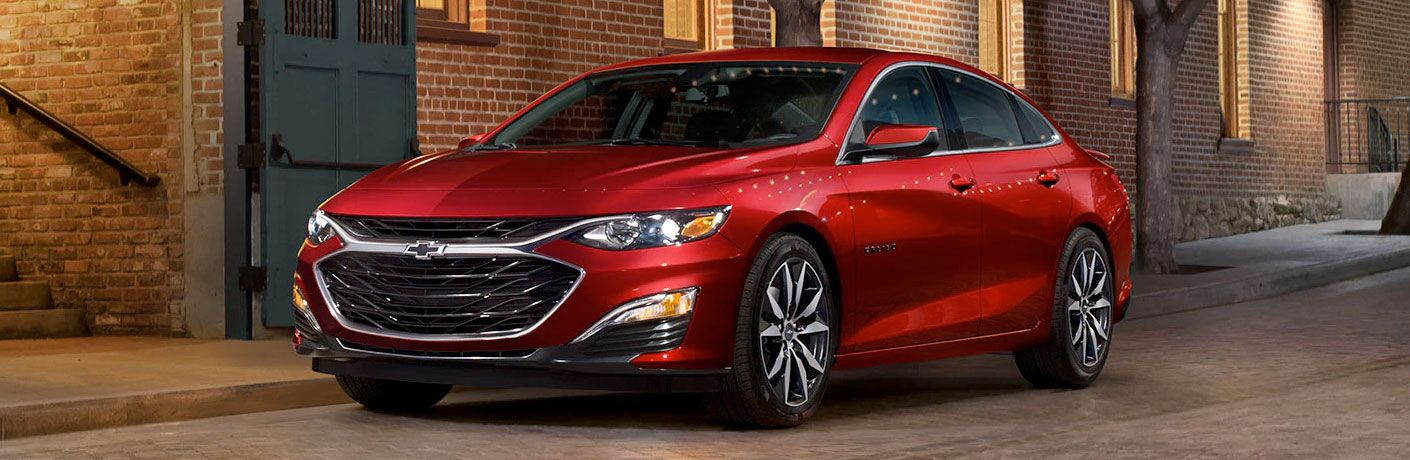 2020 Chevrolet Malibu Parked on Side of road