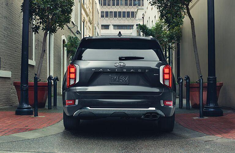 2020 Hyundai Palisade rear exterior and badging