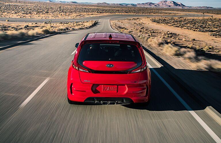 2020 Kia Soul rear exterior