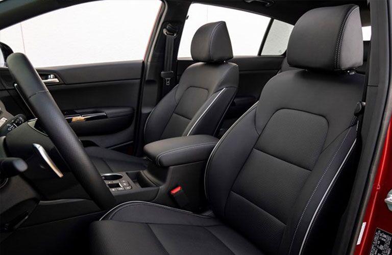 2020 Kia Sportage front seats