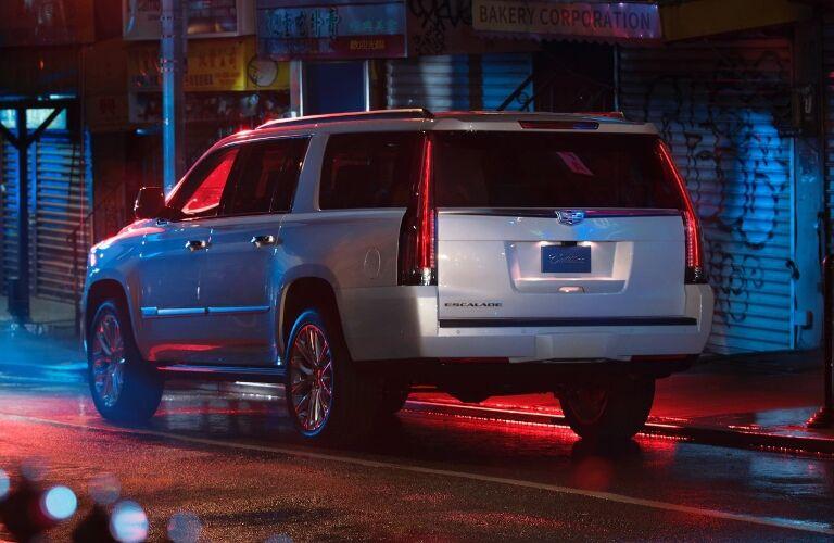 2020 Cadillac Escalade Driving Away