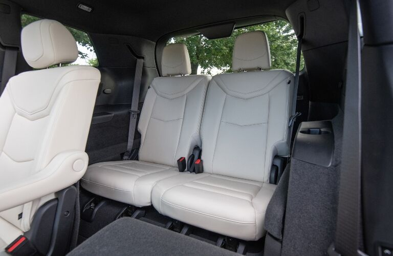 2020 Cadillac XT6 back seats