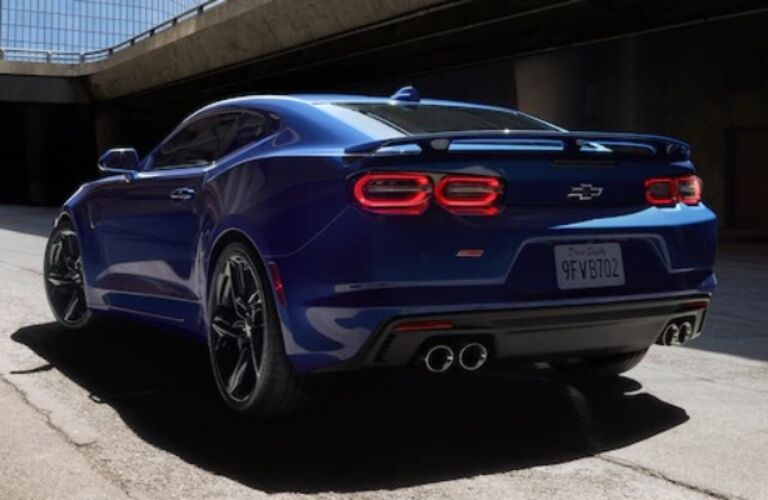 2020 Chevrolet Camaro Back End
