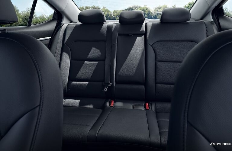 2020 Hyundai Elantra Back Seats