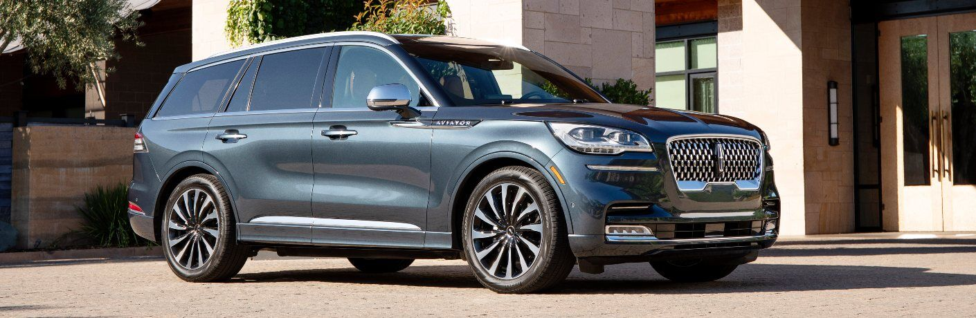 2020 Lincoln Aviator Grand Touring Parked