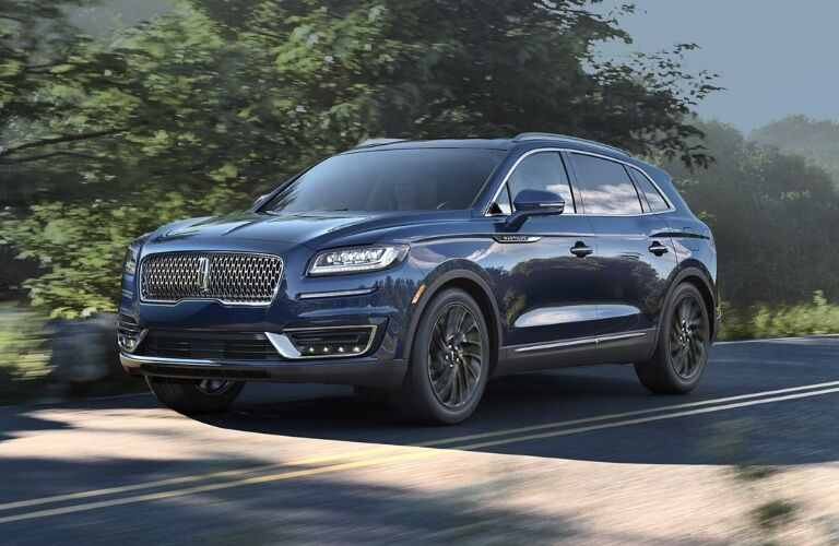 2020 Lincoln Nautilus cruising down the road
