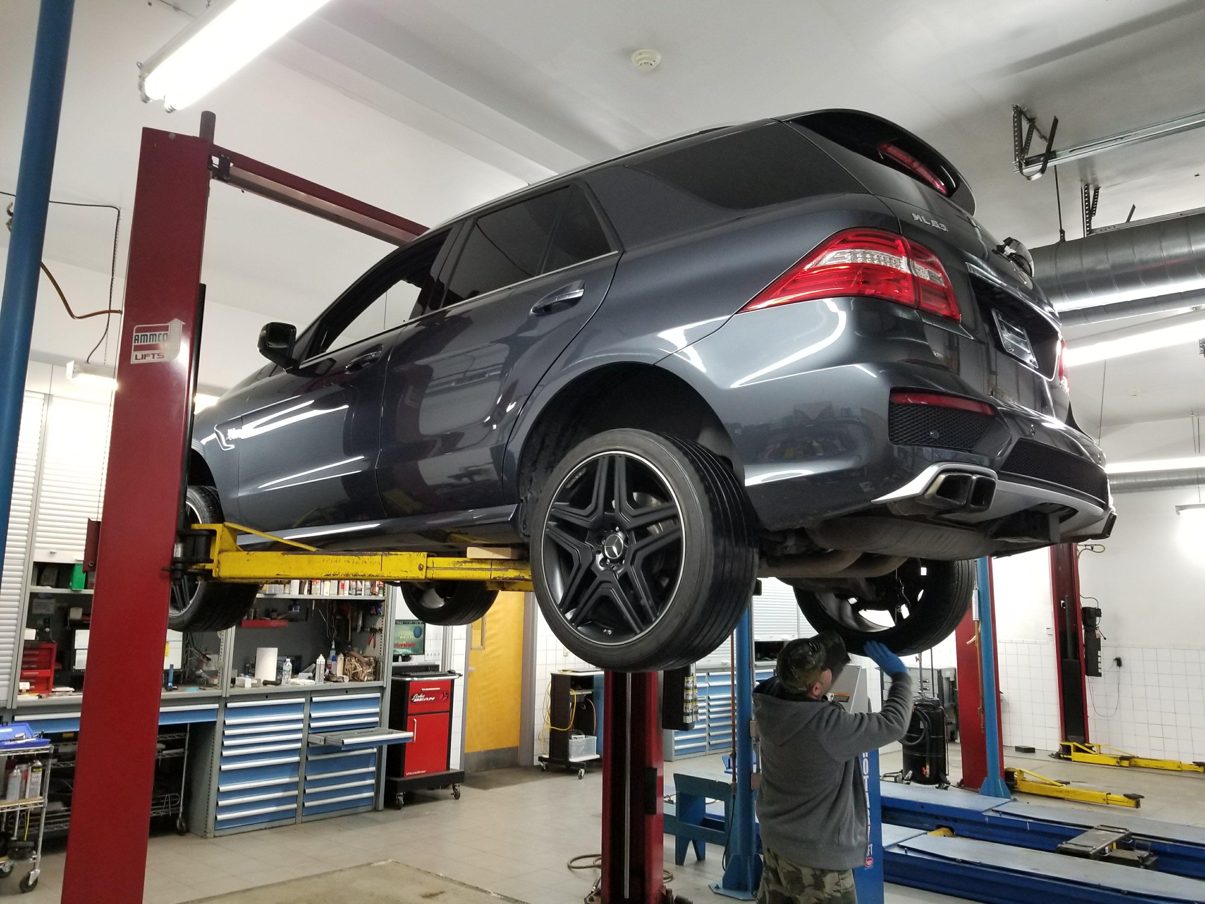 2013 Mercedes-Benz ML63 AMG