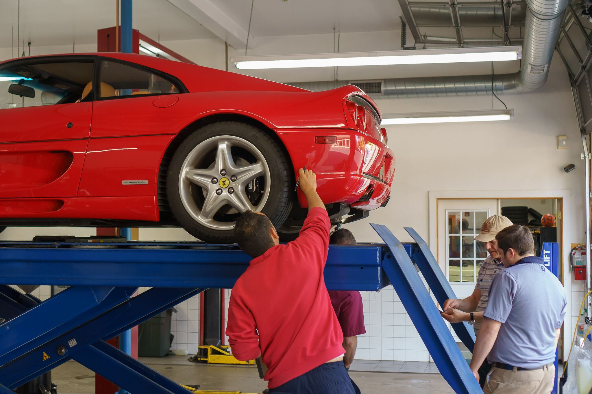 Ferrari Comprehensive Vehicle Inspection