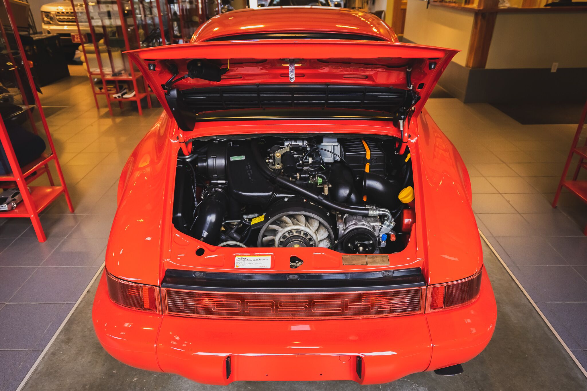 1992 Porsche 911 Carrera Luxury Detailing